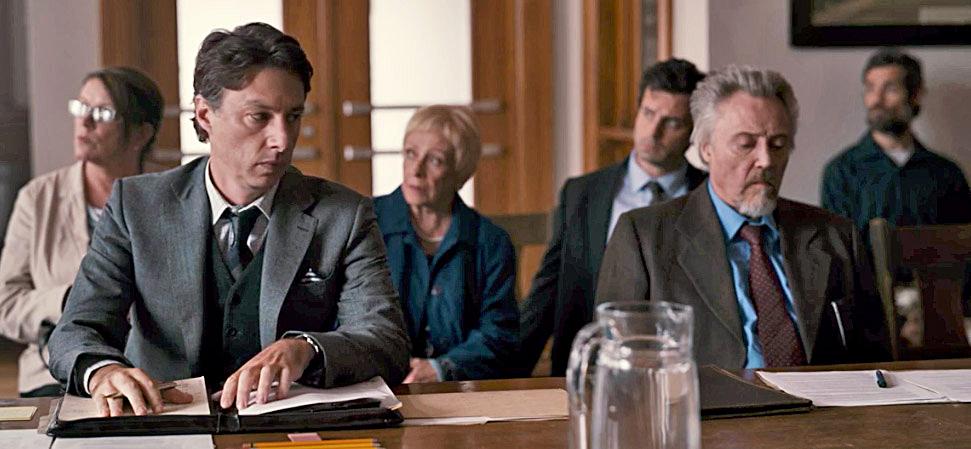 Christopher Walken, Zach Braff in Percy Vs. Goliath Trailer courtesy of Saban Films