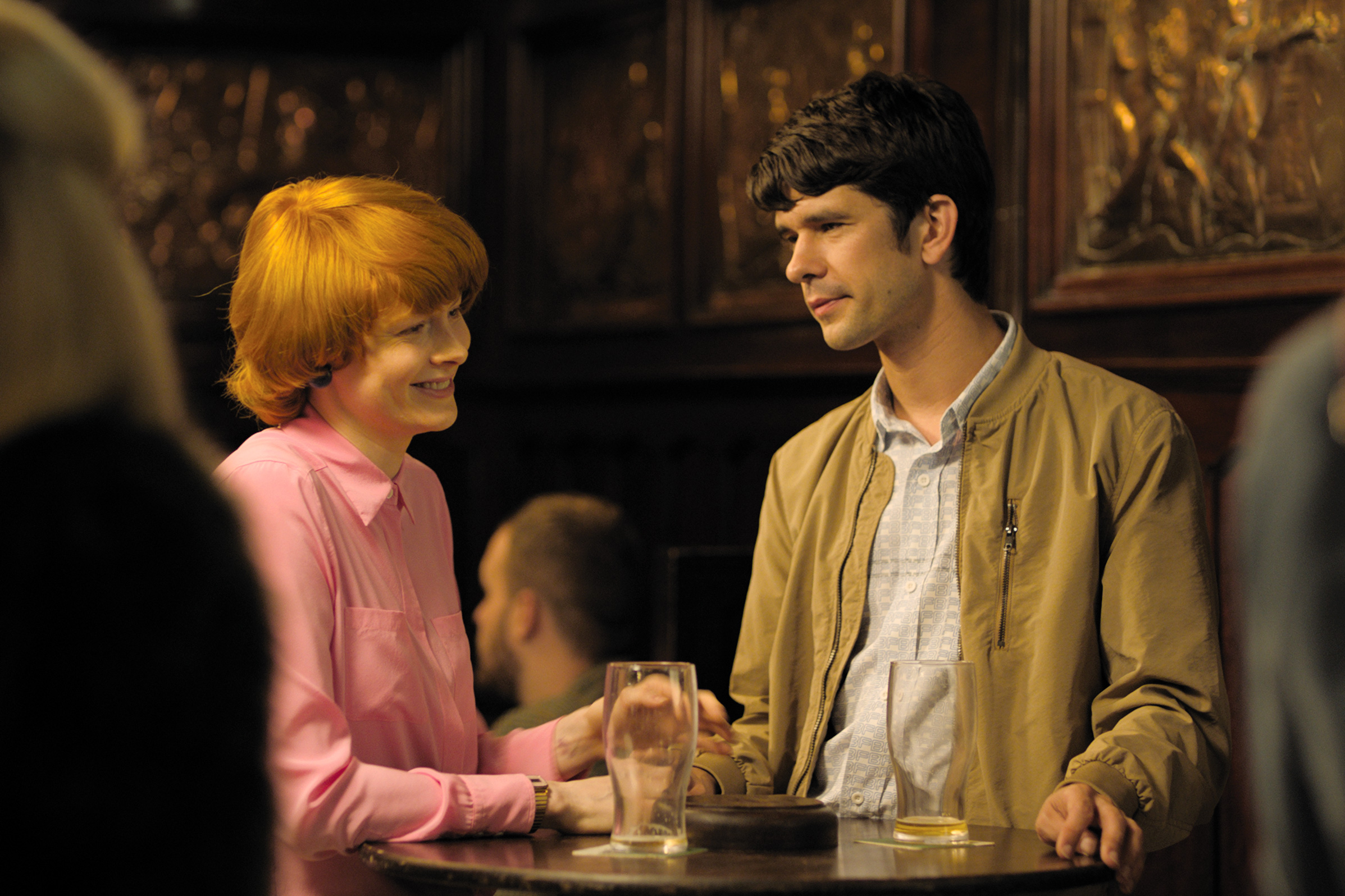 Emily Beecham and Ben Whishaw in LITTLE JOE, a Magnolia Pictures release. © coop99, The Bureau, Essential Films. Photo courtesy of Magnolia Pictures.