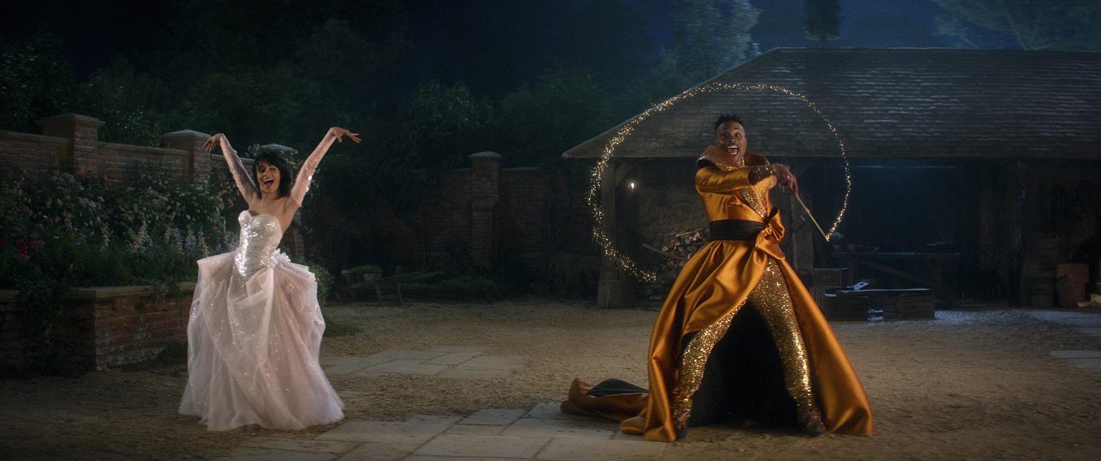 Camila Cabello and Billy Porter star in CINDERELLA Courtesy of Amazon Studios © 2021 Amazon Content Services LLC